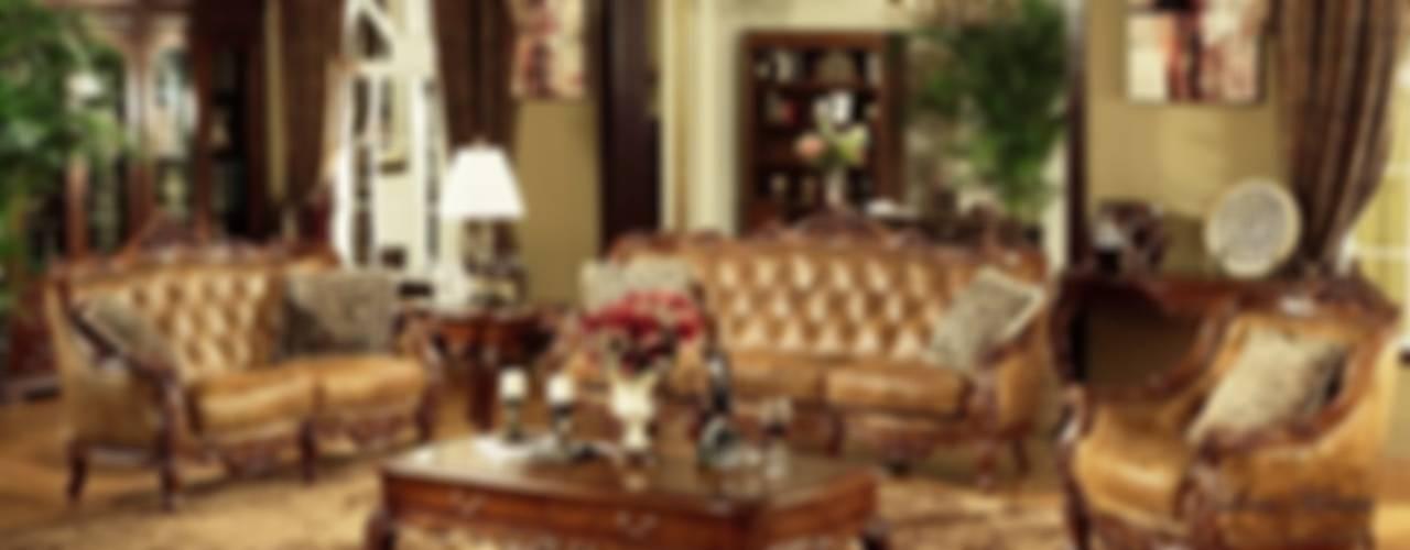 A Lavish & Decorative Living Room de Locus Habitat Clásico