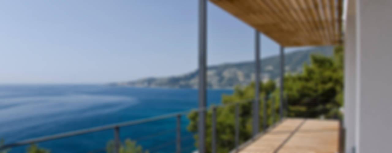 Private villa 330, Sanremo Case in stile minimalista di Studio 4 Minimalista