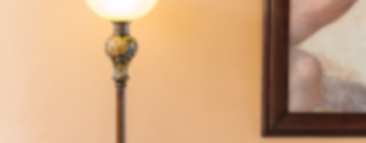 Lámpara art deco:  de estilo  por Mikkael Kreis Architects