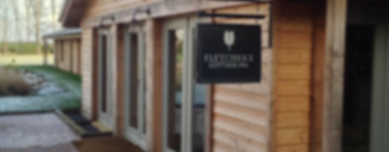 Fletcher's Cottage Spa Rustieke spa's van Aitken Turnbull Architects Rustiek & Brocante