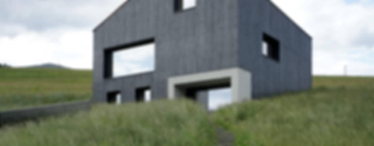 Holzkristall Moderne Häuser von Hurst Song Architekten Modern