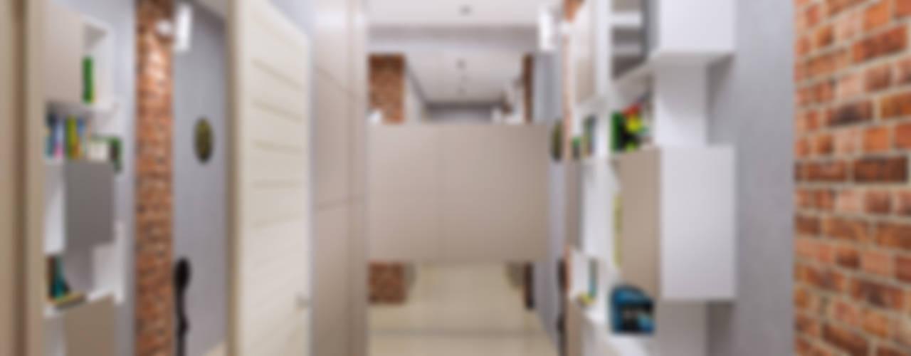 Pasillos, vestíbulos y escaleras minimalistas de homify Minimalista