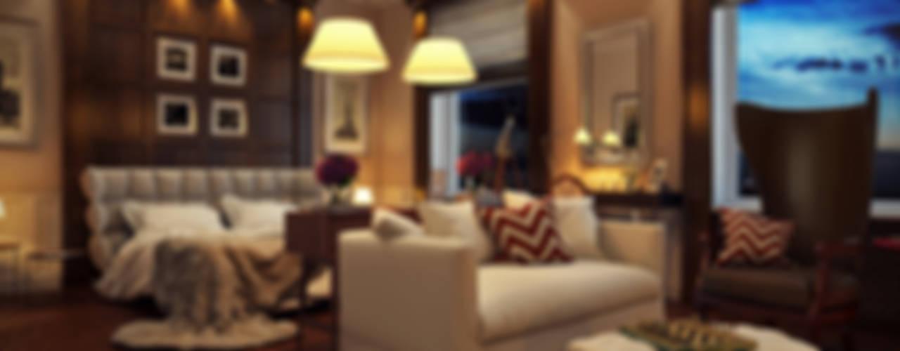 ЖК Парадный квартал , квартира финансиста, 133 кв.м.:  в . Автор – Дизайн элитного жилья | Студия Дизайн-Холл,