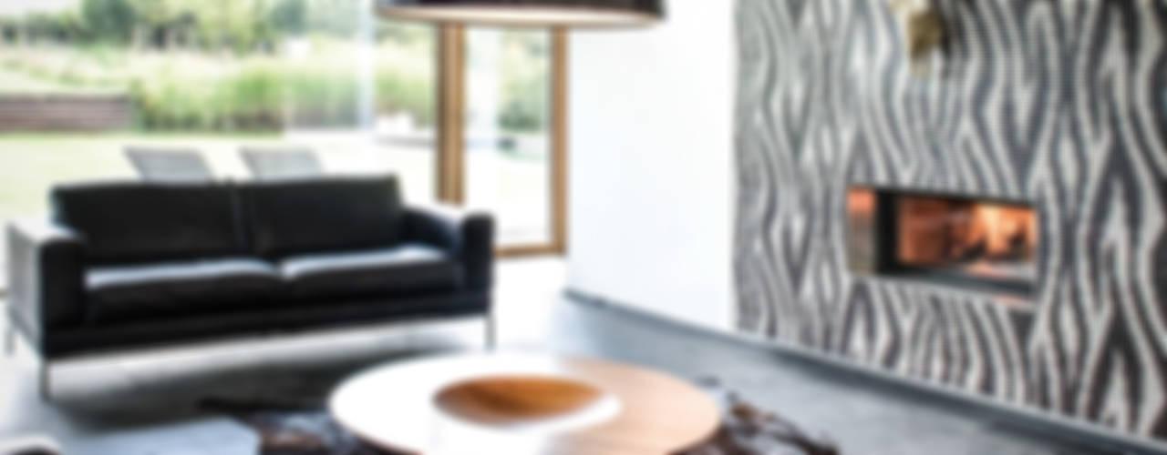 Salones de estilo moderno de Maisons Loginter Moderno