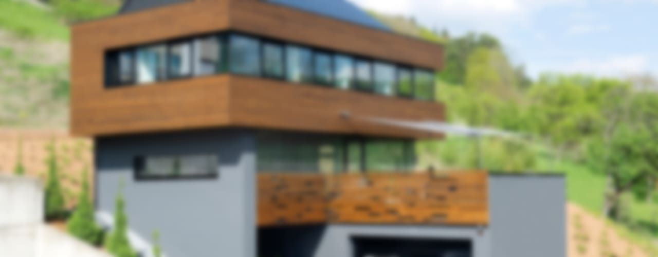 Ökologisches Massivholzhaus Moderne Häuser von massive passive Modern