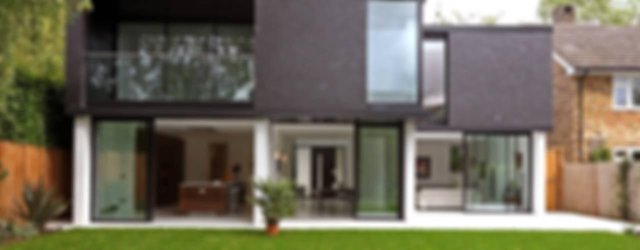 Projekty,  Domy zaprojektowane przez Nicolas Tye Architects