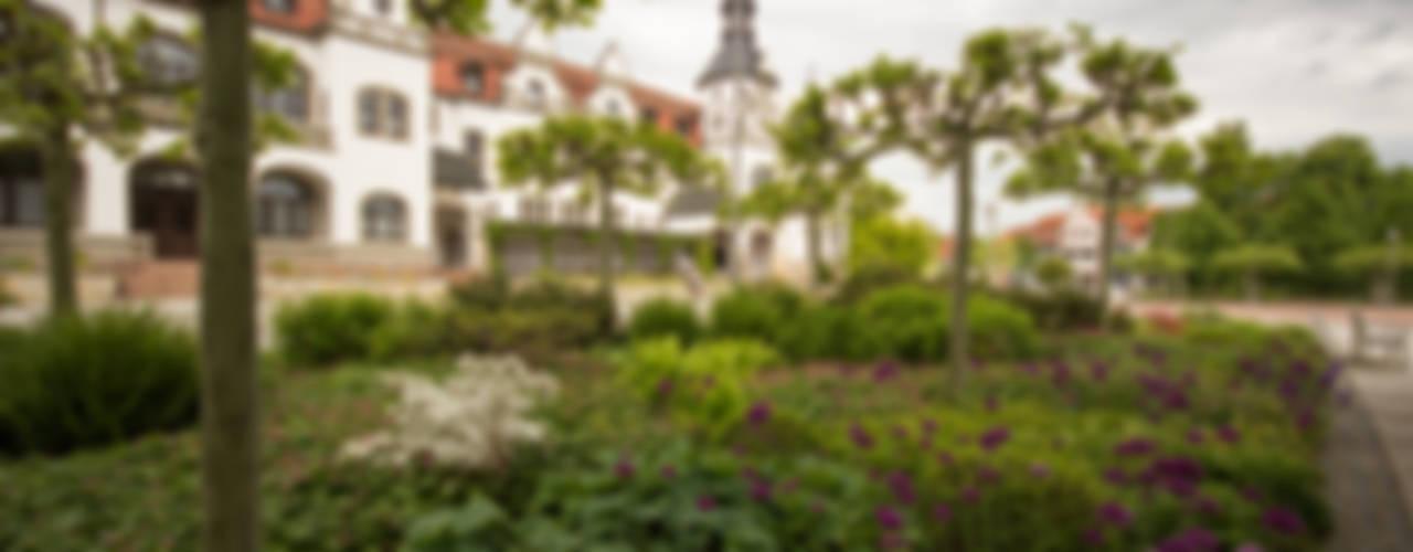 Kurpark Bad Schmiedeberg GFSL clausen landschaftsarchitekten gruen fuer stadt + leben Klassische Krankenhäuser