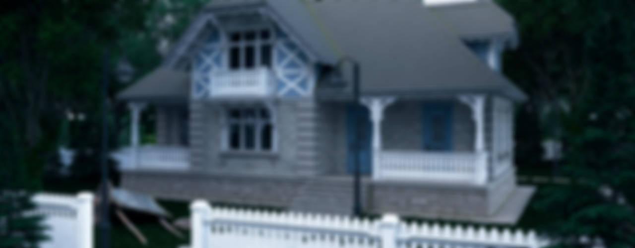 Загородный дом: Дома в . Автор – Максим Любецкий,