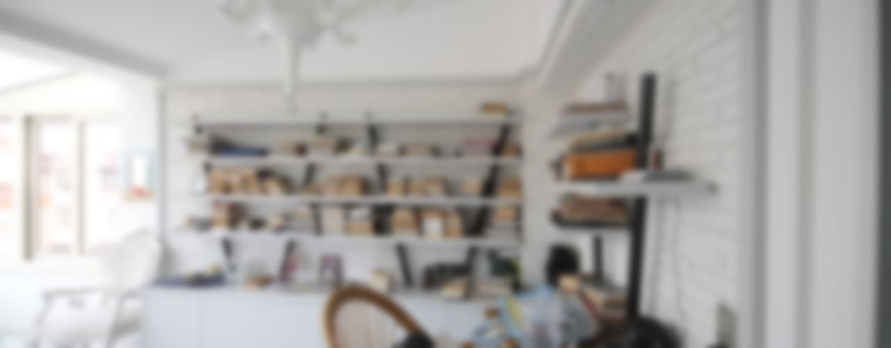 Estudios y despachos de estilo  de DerganÇARPAR Mimarlık , Rústico