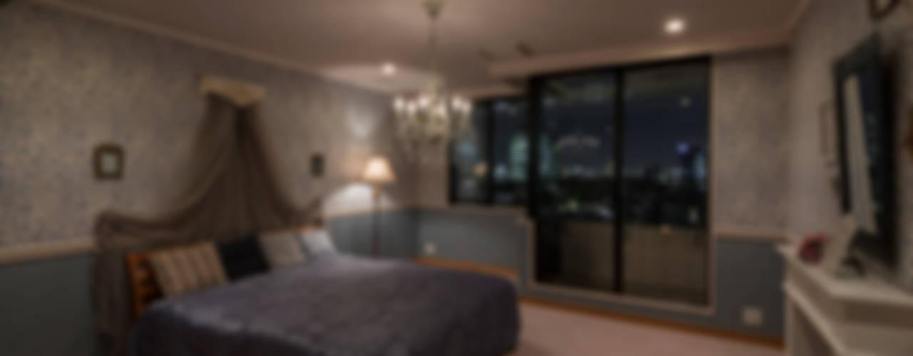 shinagawa クラシカルスタイルの 寝室 の 夏水組 クラシック