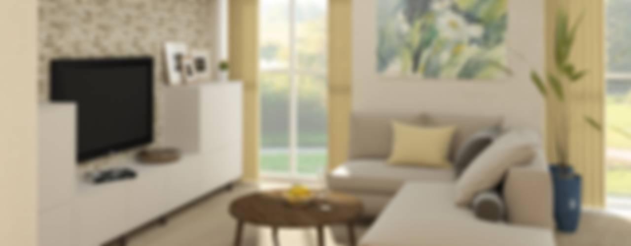 Зона гостиной: Гостиная в . Автор – e.v.a.project architecture & design