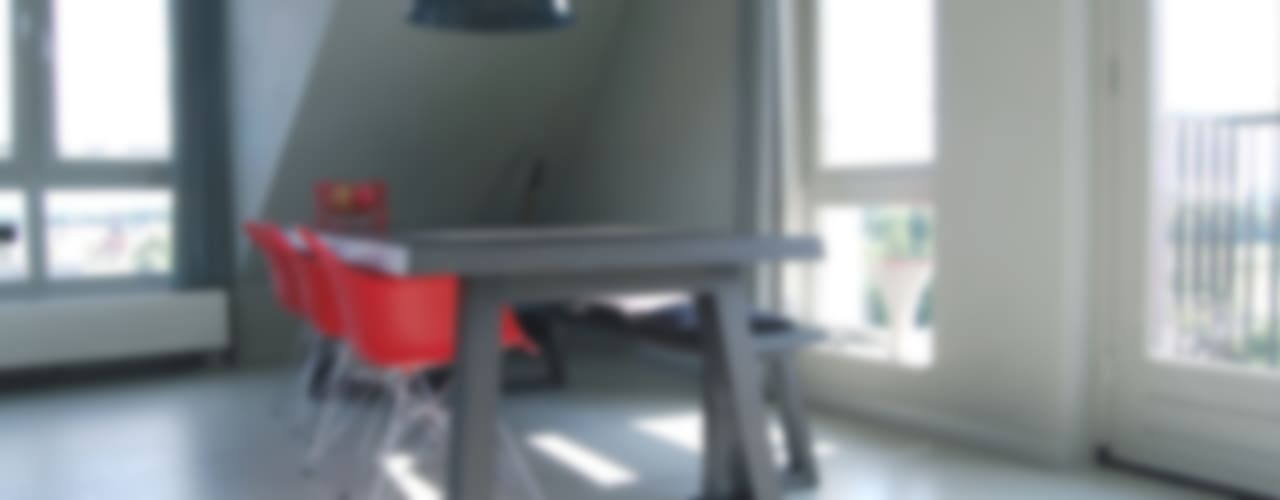 Penthouse Minimalistische eetkamers van CioMé Minimalistisch