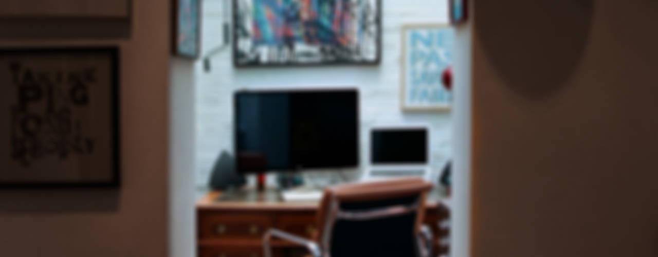 Estudios y despachos de estilo  por Tom Kaneko Design & Architecture
