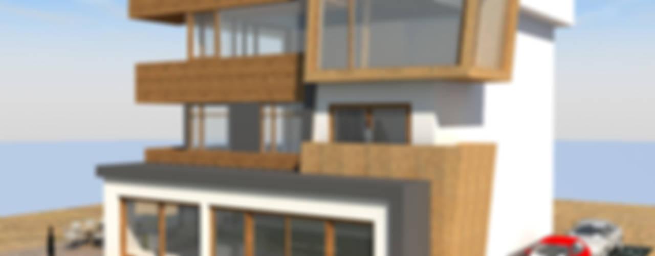 DerganÇARPAR Mimarlık  – GÖKHAN GÖÇMEN VİLLASI :  tarz Evler