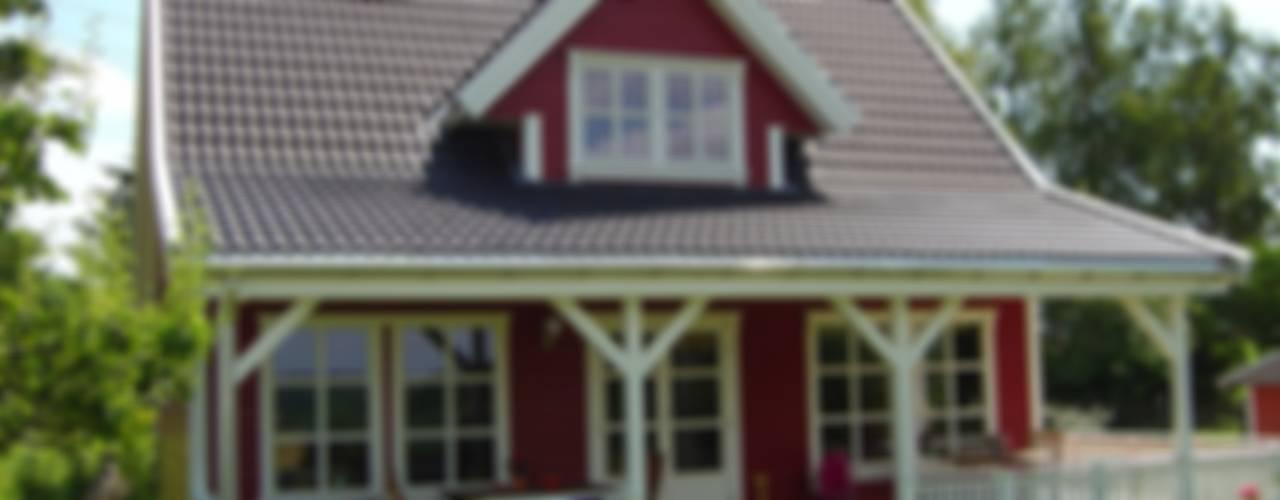 Norwegisches Holzhaus Typ Arne 100 Skandinavische Häuser von Akost GmbH 'Ihr Traumhaus aus Norwegen' Skandinavisch
