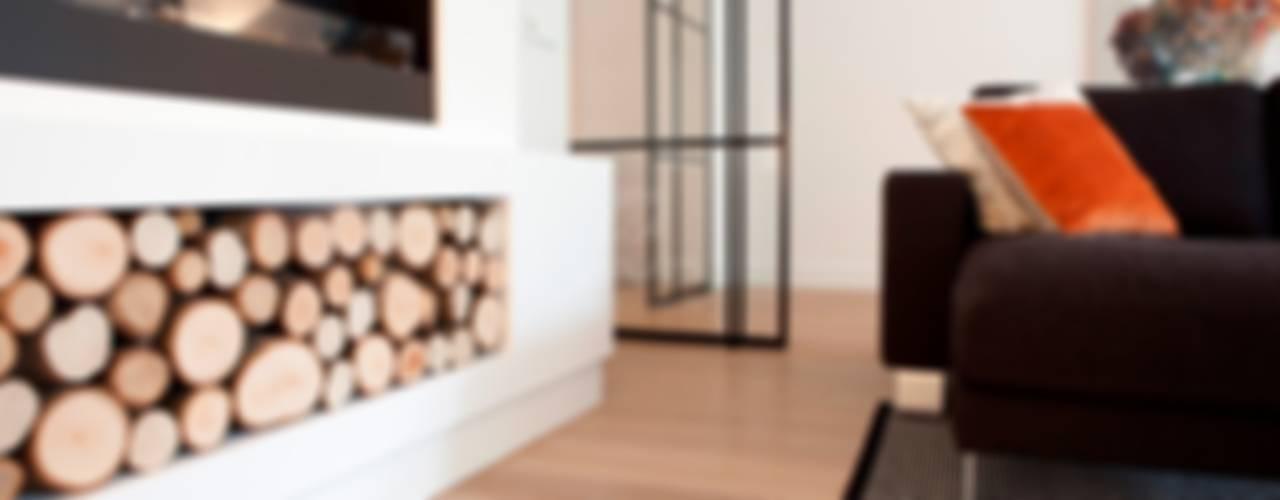 Appartement Breda Moderne woonkamers van BVO Vloeren Modern