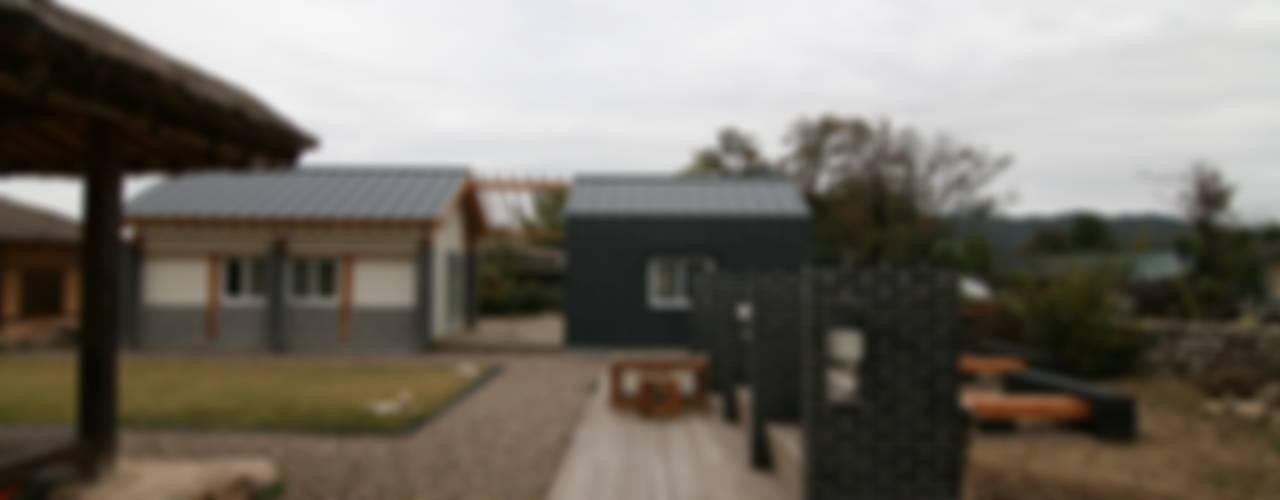 은재네 돌담집 컨트리스타일 주택 by 201 건축사사무소 컨트리
