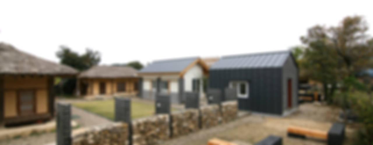 Landelijke huizen van 201 건축사사무소 Landelijk