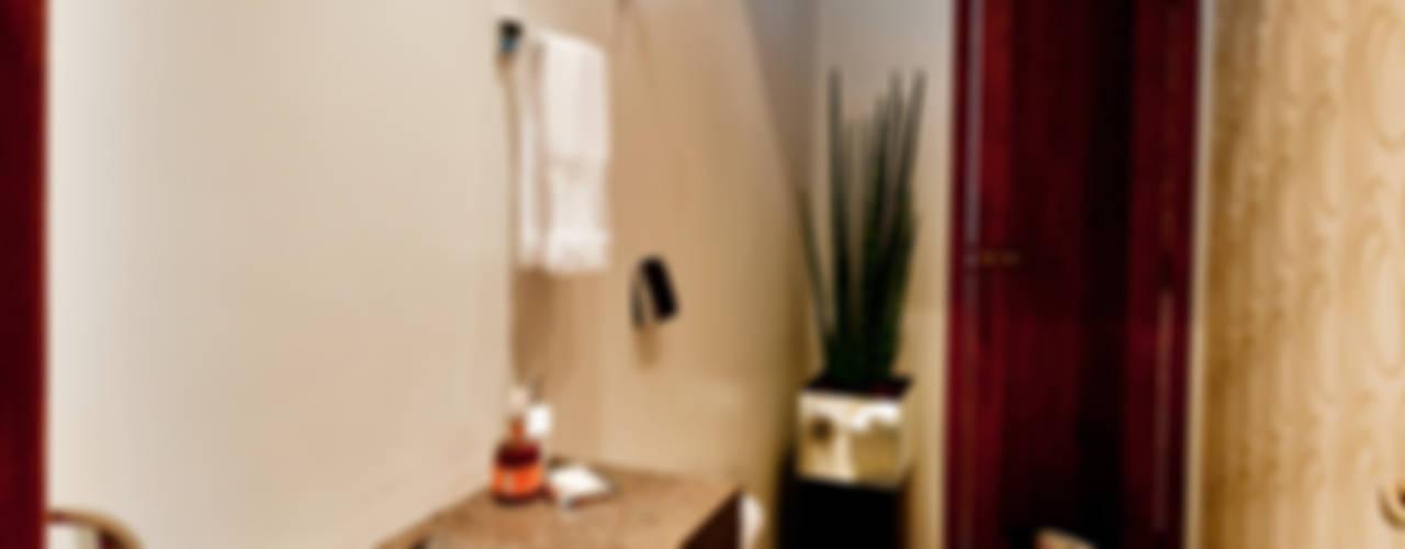 PROJETO ARQUITETÔNICO DA RESIDÊNCIA PRUNER Banheiros rústicos por ArchDesign STUDIO Rústico