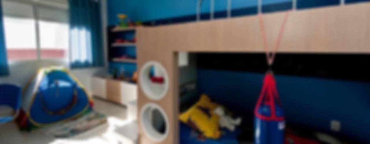 PROJETO ARQUITETÔNICO DE INTERIOR DA RESIDÊNCIA ZIMATH Quarto infantil eclético por ArchDesign STUDIO Eclético