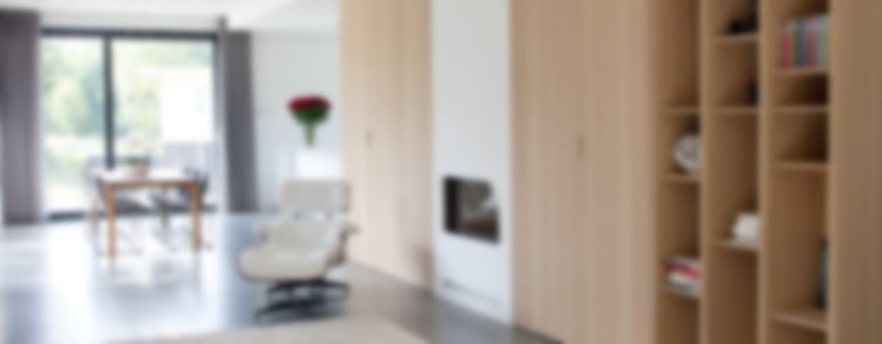 Livings de estilo moderno de Archstudio Architecten | Villa's en interieur Moderno