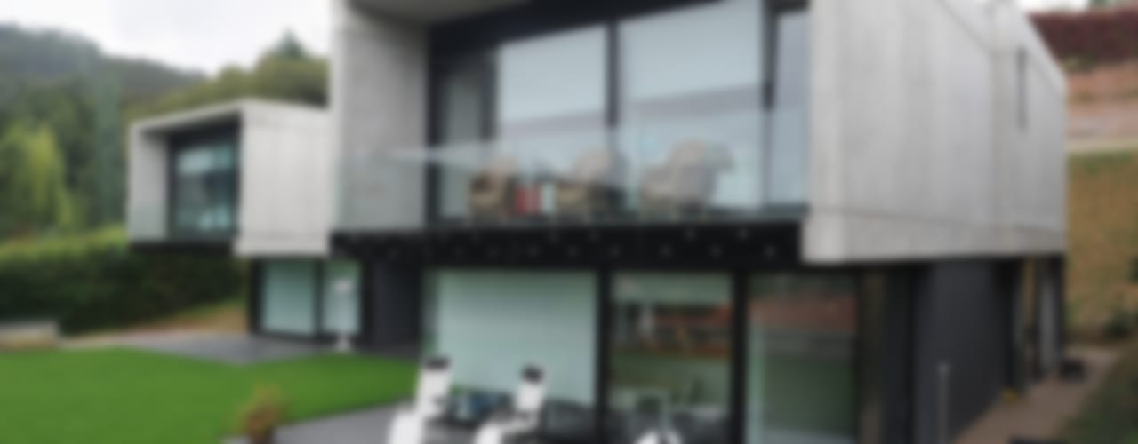 Vivienda Unifamiliar Casas de estilo moderno de DECONS GKAO S.L. Moderno