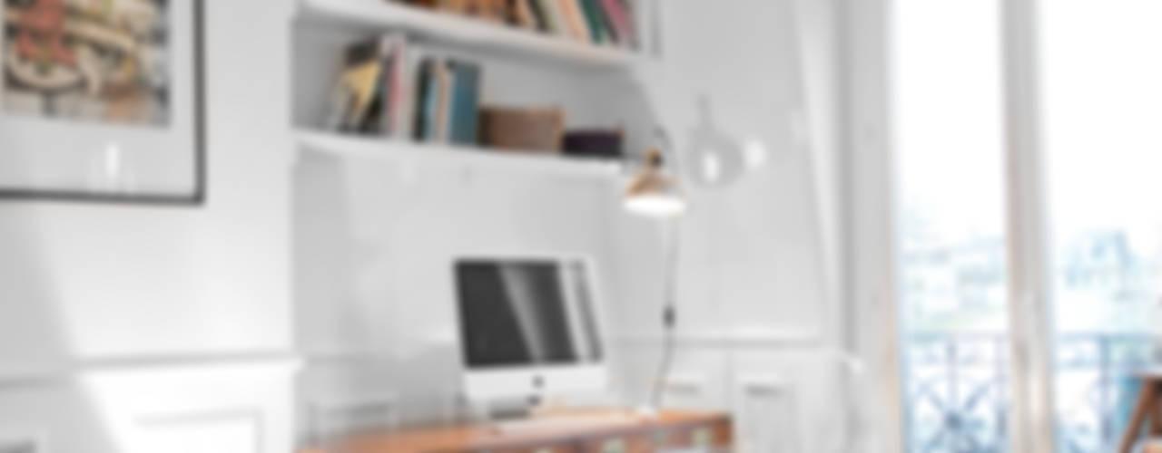 #josephdemaistre Bureau rustique par Cocottes Studio Rustique