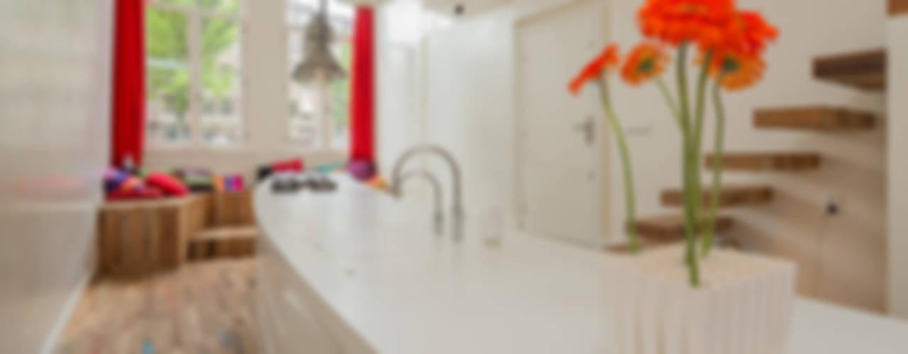 Kloveniersburgwal Moderne keukens van CUBE architecten Modern