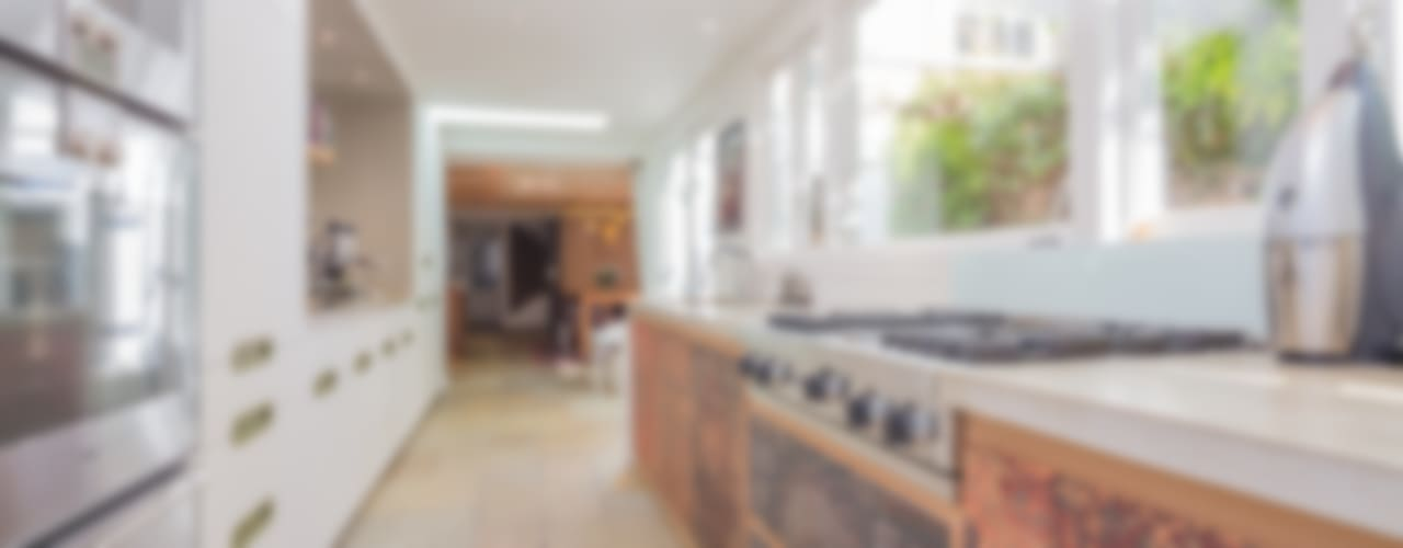 Keizersgracht Eclectische keukens van CUBE architecten Eclectisch
