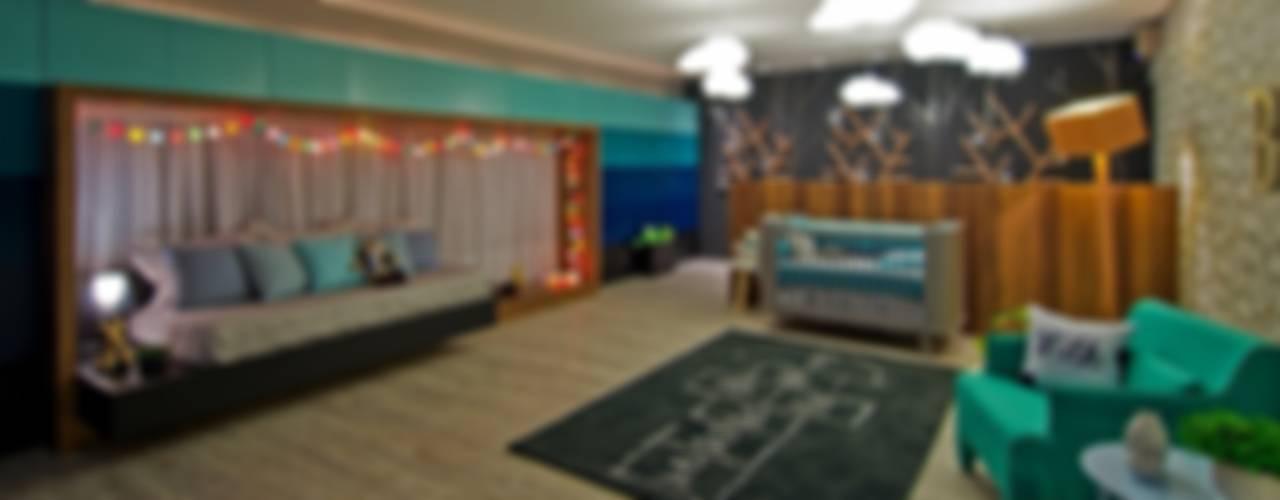Habitaciones para niños de estilo moderno de Espaço do Traço arquitetura Moderno