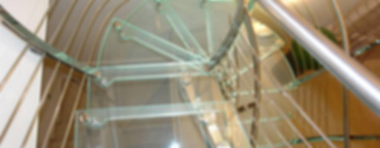 Scala inox.vetro:  in stile  di VICIANI