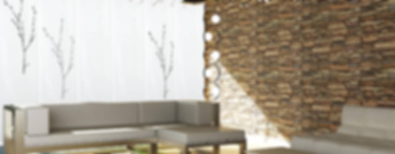 Ambientes actuales de La Ventana de Colores Salones de estilo mediterráneo de LA VENTANA DE COLORES Mediterráneo