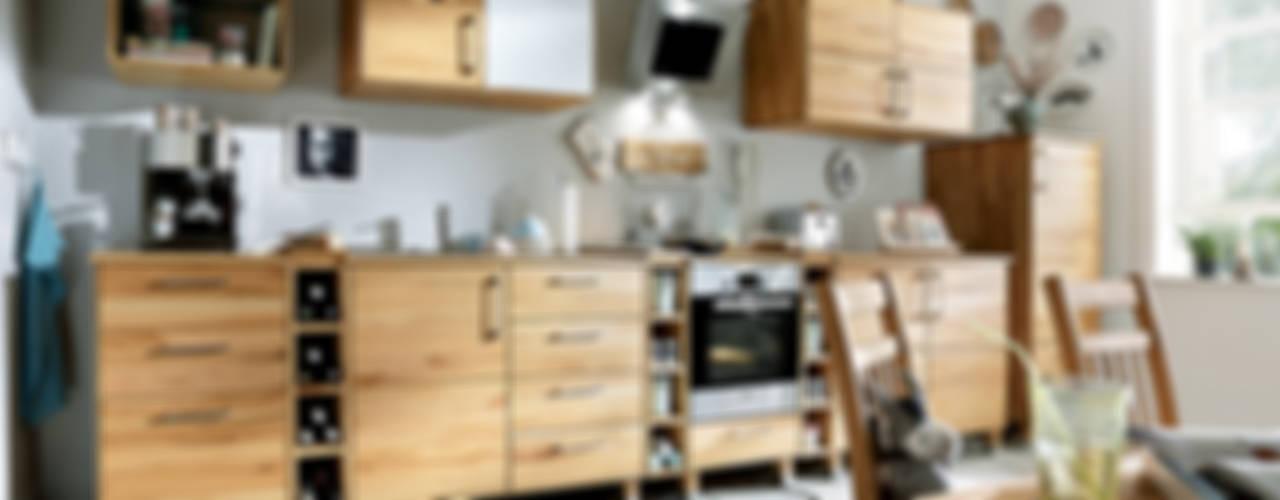 Massivholz-Modulküche : modern  von Allnatura,Modern