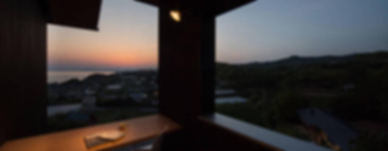 Tei 和風デザインの テラス の キリコ設計事務所 和風