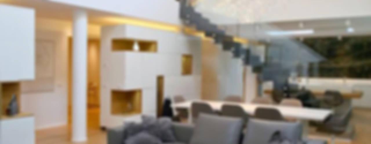 Casa AC Soggiorno moderno di davide prandin / architetto Moderno