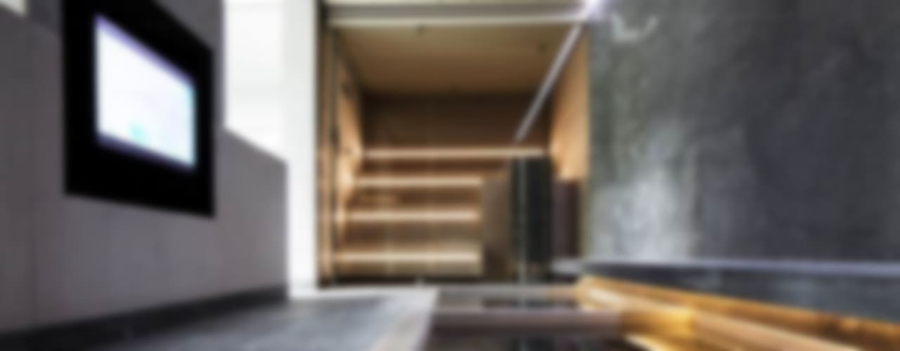Guesthouse met spa en welness Minimalistische spa's van KleurInKleur interieur & architectuur Minimalistisch