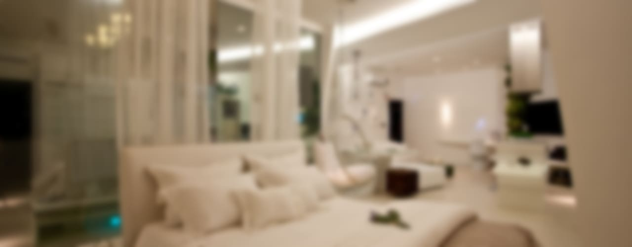Minimalistische slaapkamers van Espaço do Traço arquitetura Minimalistisch