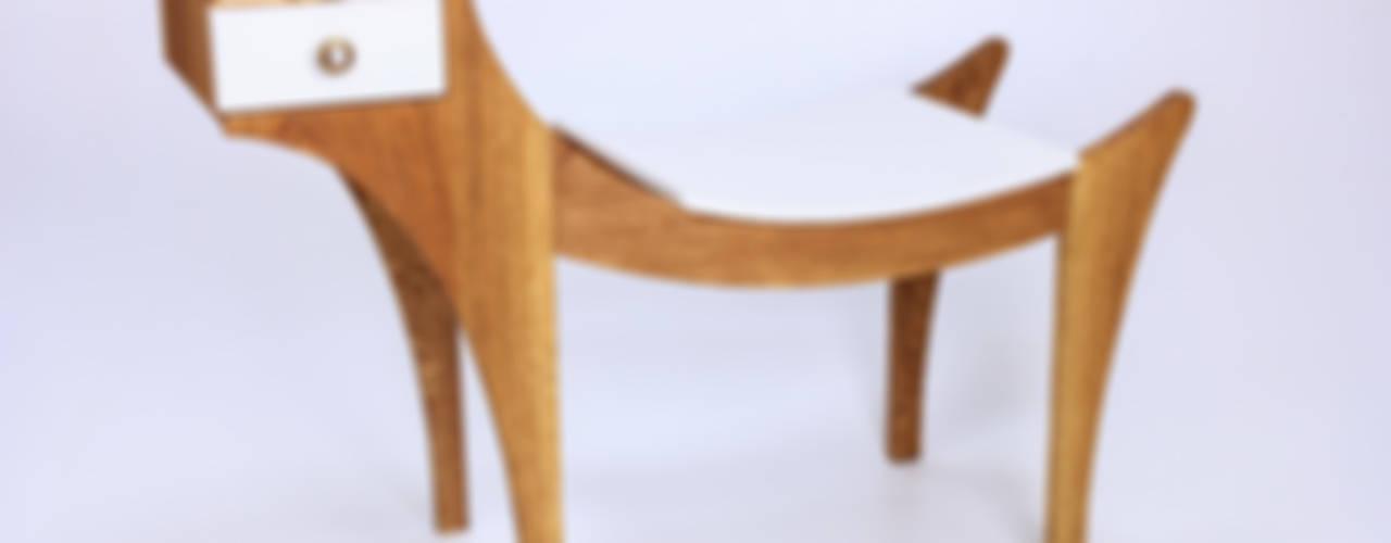 """Ławka """"Gryf """": styl , w kategorii  zaprojektowany przez Meble Autorskie Jurkowski"""