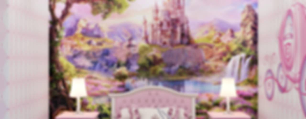 """Детская комната """"История Золушки"""" Детская комнатa в стиле минимализм от студия визуализации и дизайна интерьера '3dm2' Минимализм"""