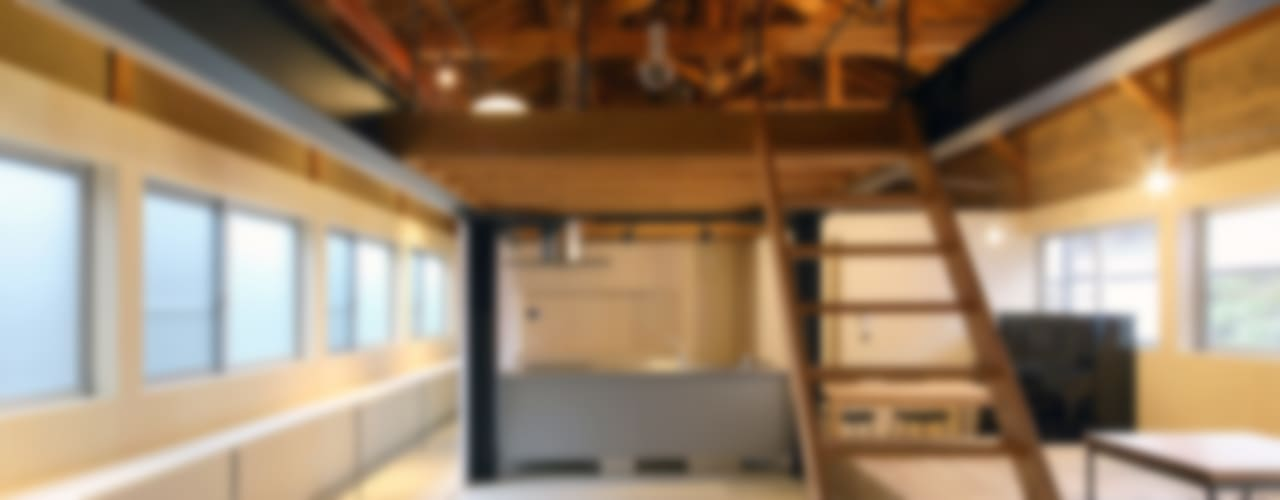 京丹後のリノベーション モダンデザインの ダイニング の ARCHIXXX眞野サトル建築デザイン室 モダン