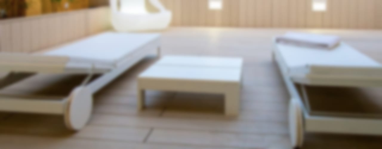 Balcones y terrazas minimalistas de Chiralt Arquitectos Minimalista