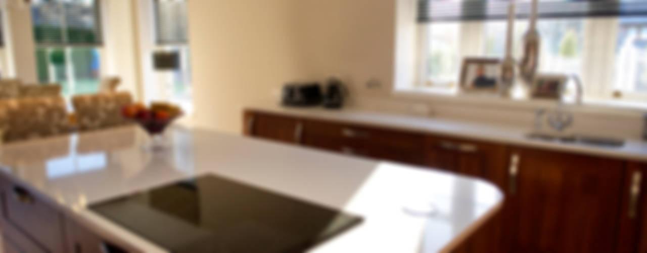 Ramsden House, Peterculter, Aberdeen Roundhouse Architecture Ltd KitchenBench tops