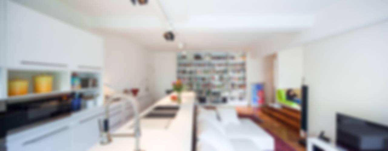 atelier blur / georges hung architecte d.p.l.g.의  거실