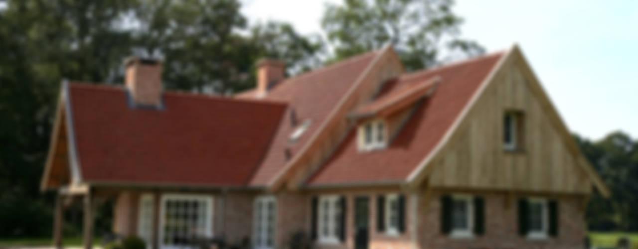 Landelijke architectuur in Fleringen:  Huizen door Building Design Architectuur
