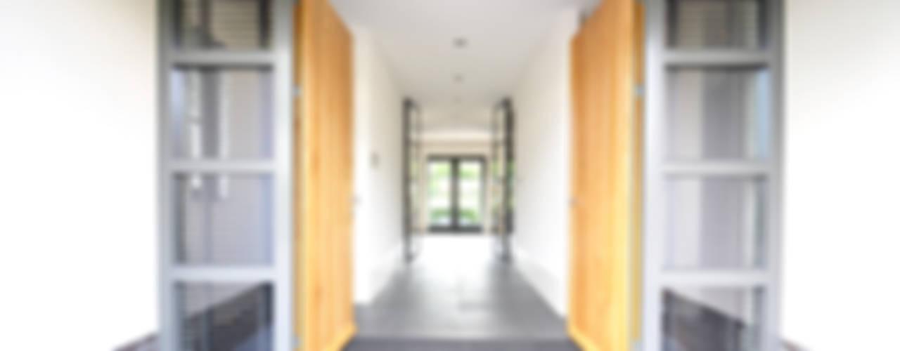 Building Design Architectuur Modern corridor, hallway & stairs