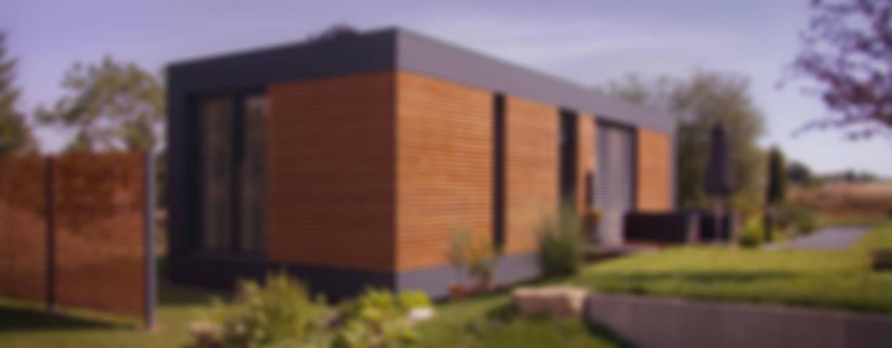 """Musterhaus """"freelance"""" Minimalistische Häuser von smartshack Minimalistisch"""