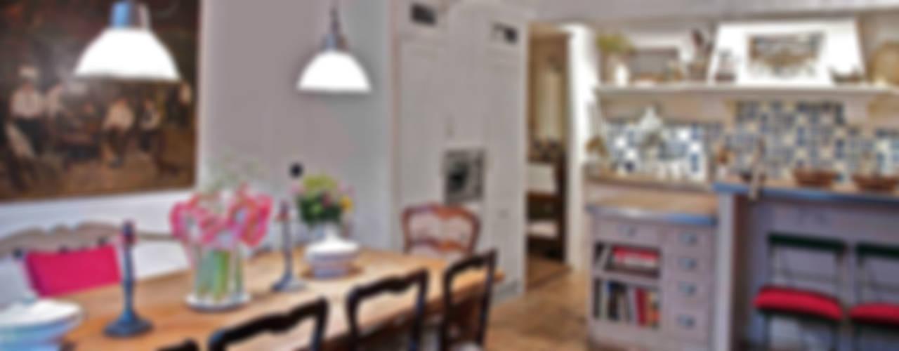 Rustik Yemek Odası Urbana Interiorismo Rustik