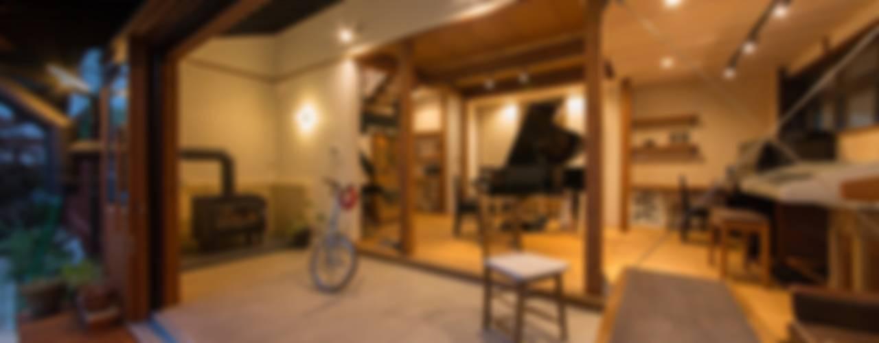 House Ookimati: エコリコデザイン一級建築士事務所が手掛けた和室です。,和風