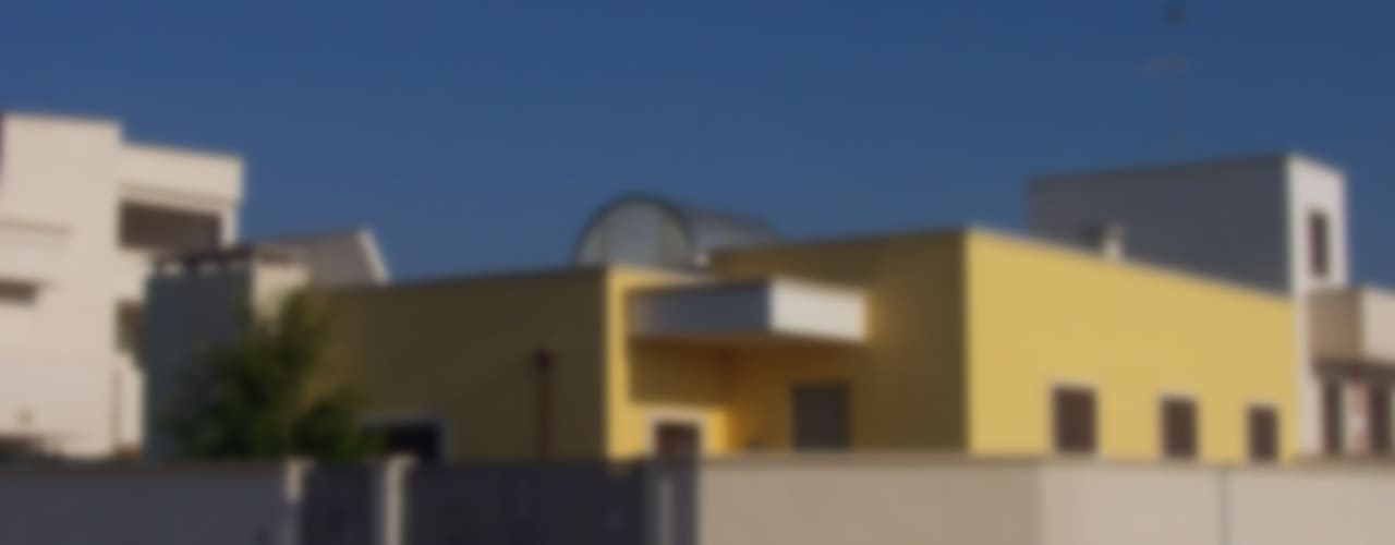 Casas de estilo  por Gianluca Vetrugno Architetto