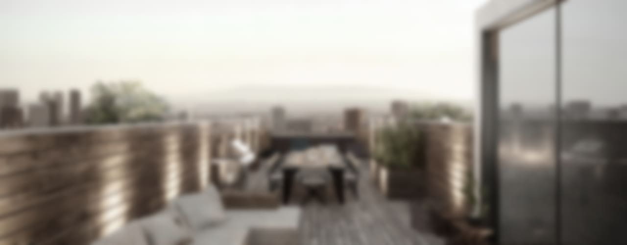 에클레틱 발코니, 베란다 & 테라스 by NATURAL LIGHT DESIGN STUDIO 에클레틱 (Eclectic)
